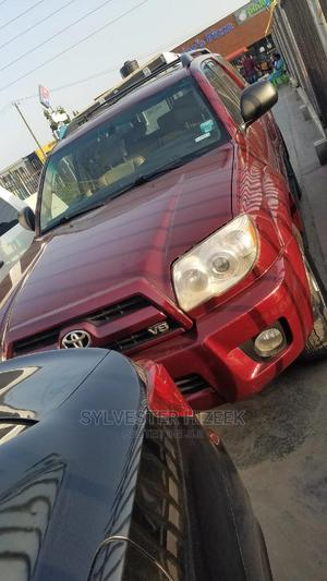 Toyota 4-Runner 2008 Limited V8 Red | Cars for sale in Lagos State, Lekki