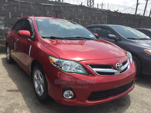 Toyota Corolla 2011 Red   Cars for sale in Lagos State, Apapa