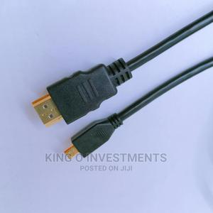 Micro HDMI To HDMI Cable   Accessories & Supplies for Electronics for sale in Lagos State, Ikeja