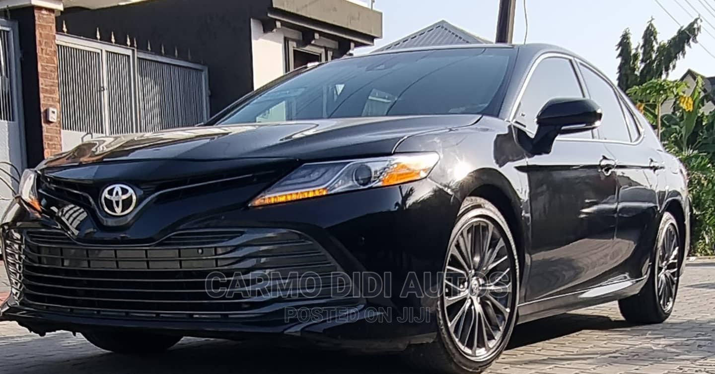 Toyota Camry 2018 SE FWD (2.5L 4cyl 8AM) Black   Cars for sale in Lekki, Lagos State, Nigeria