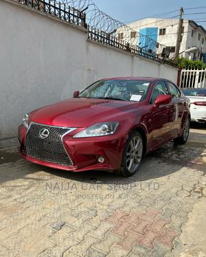 Lexus IS 2008 250 Red | Cars for sale in Lagos State, Ikeja