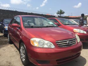 Toyota Corolla 2003 Sedan Red | Cars for sale in Lagos State, Apapa