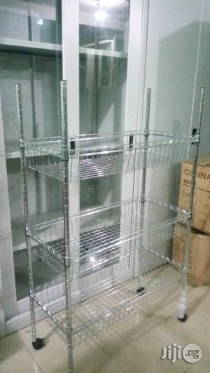 Stainless Steel Display Rack   Store Equipment for sale in Lagos State, Ojo