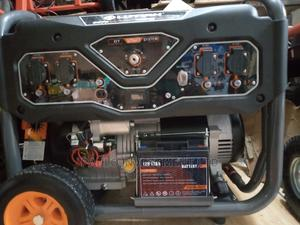 6.5kva Lutian Key Start Generator 100% Copper Coil | Electrical Equipment for sale in Lagos State, Ojo