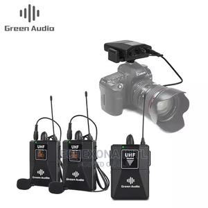 High-Quality Wireless Lavalier Microphone Lapel Microphone | Audio & Music Equipment for sale in Lagos State, Oshodi