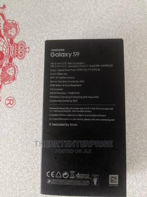 New Samsung Galaxy S9 64 GB Black   Mobile Phones for sale in Osun State, Osogbo