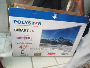 Polystar 43 Inches Curve Smart Tv | TV & DVD Equipment for sale in Lagos State, Victoria Island