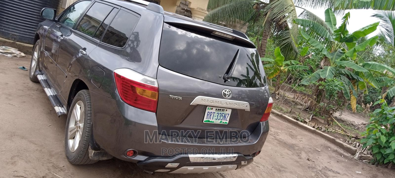 Archive: Toyota Highlander 2008 Limited Gray