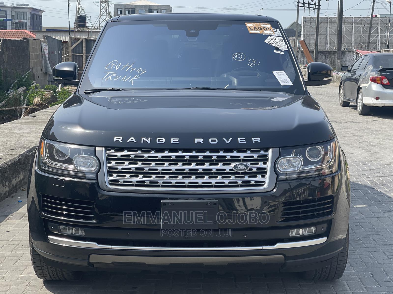 Archive: Land Rover Range Rover Vogue 2016 Black
