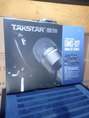 Taskar 7 Set Drum Microphone | Audio & Music Equipment for sale in Lagos State, Maryland