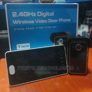 2.4G Wireless Video Door Phone Doorbell Intercom System   Home Appliances for sale in Lagos State, Lekki