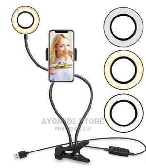 Trendy Selfie Ring Light With Cell Phone Stand | Accessories for Mobile Phones & Tablets for sale in Lagos State, Lagos Island (Eko)