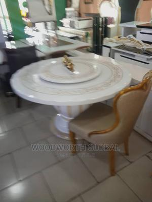 Royal Marble Round Table | Furniture for sale in Lagos State, Ikeja