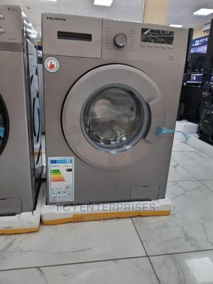 Polystar 7KG Front Loader Automatic Washing Machine PV-TWF7.   Home Appliances for sale in Lagos State, Ikeja