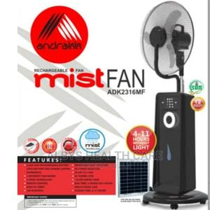 """Top Brand Andrakk 18"""" Standing Recharge Mist/Air Cooling Fan   Home Appliances for sale in Lagos State, Victoria Island"""