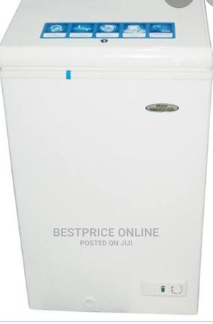 Haier Thermocool Small Chest Freezer HTF-100HAS -(WHITE) | Kitchen Appliances for sale in Lagos State, Ikeja