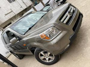 Honda Pilot 2007 EX-L 4x2 (3.5L 6cyl 5A) Green   Cars for sale in Lagos State, Ogba