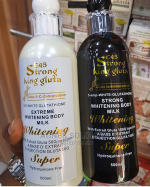 E45 Strong King Gluta, Extreme Whitening Body Milk. | Skin Care for sale in Lagos State, Ikorodu