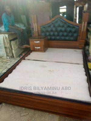 Four X Six Bed Frame With One Side Bed | Furniture for sale in Abuja (FCT) State, Lugbe District