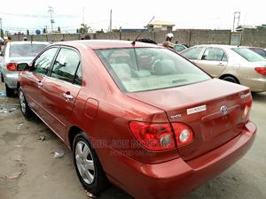 Toyota Corolla 2008 Red | Cars for sale in Lagos State, Apapa