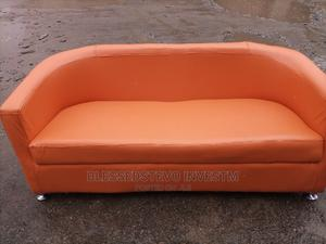 Orange Sofa Chair 3 in 1 Chair   Furniture for sale in Lagos State, Lekki