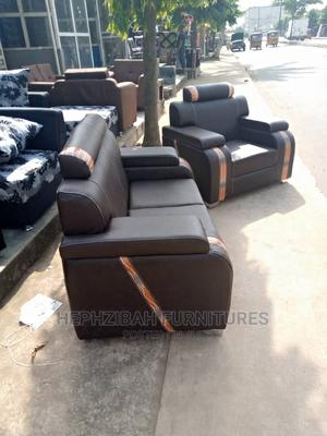 Complete 7 Seater Leather Sofa   Furniture for sale in Lagos State, Alimosho