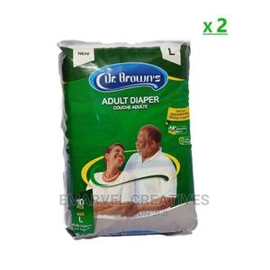Dr. Brown's Adult Diapers X 2packs - Large Size | Bath & Body for sale in Lagos State, Surulere