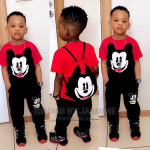 Boy Mickey Top, Trousers and Bag   Children's Clothing for sale in Lagos State, Alimosho
