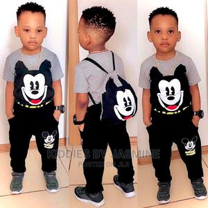 Boy Mickey Set- Top Trouser and Bag   Children's Clothing for sale in Lagos State, Alimosho