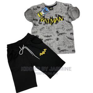 Boy Cute Batman 2psc Set | Children's Clothing for sale in Lagos State, Alimosho