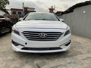 Hyundai Sonata 2015 White | Cars for sale in Lagos State, Ogba