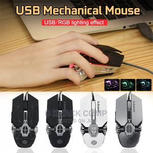 Professional Gaming Wired Mouse -Star Black | Computer Accessories  for sale in Lagos State, Surulere