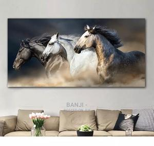 Printed Color Animal Poster Canvas Wall Art for Home Decor   Home Accessories for sale in Lagos State, Kosofe