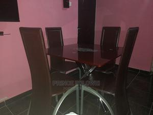 Quality Glass Dining Table by 4   Furniture for sale in Abuja (FCT) State, Katampe