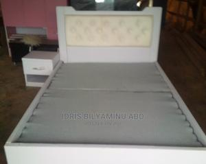 Four X Six Bedframe With One Side Bed | Furniture for sale in Abuja (FCT) State, Lugbe District