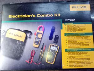 Fluke 117/323 Electricians Combo Kit, Digital Multimeter And   Measuring & Layout Tools for sale in Lagos State, Ojo