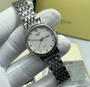 High Quality Longines Silver Watch for Men   Watches for sale in Lagos State, Magodo