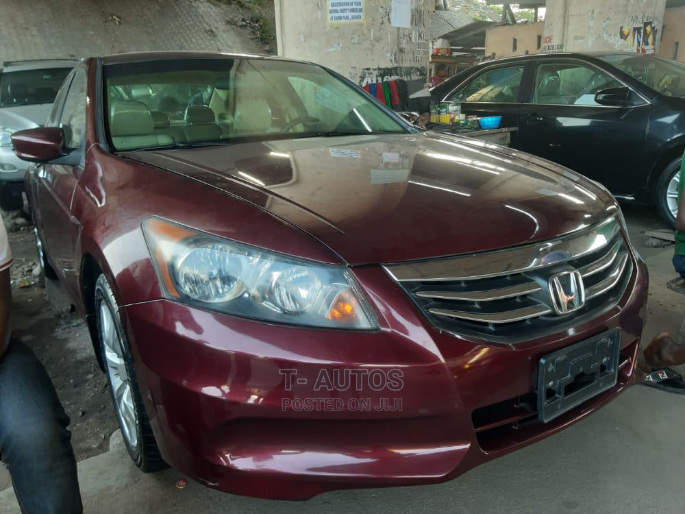 Archive: Honda Accord 2011 Red
