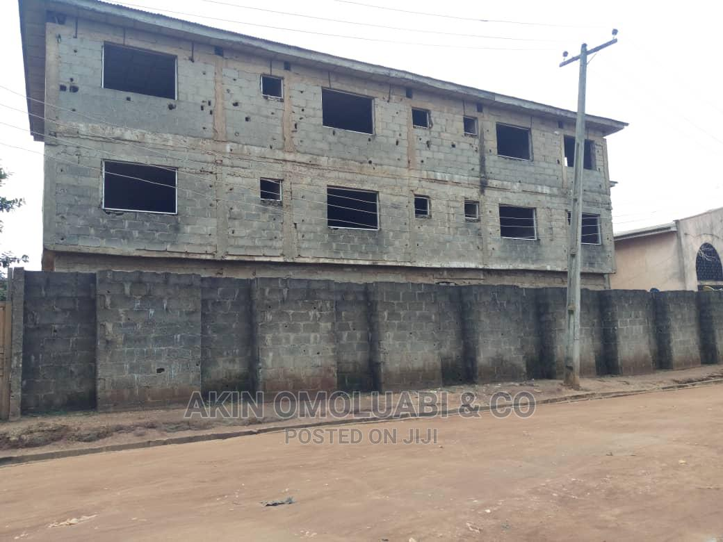 Uncompleted 75 Rooms Hotel For Sale At Idimu In Alimosho
