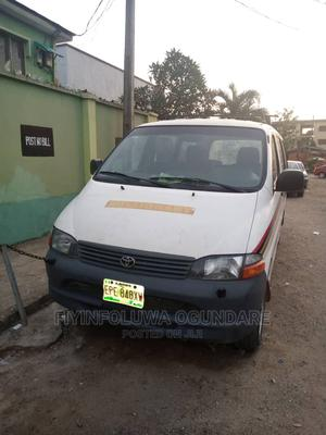 Toyota Hiace 2003 White   Buses & Microbuses for sale in Lagos State, Magodo