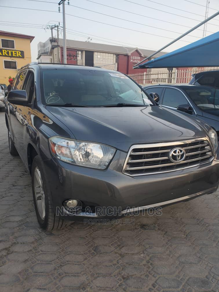 Toyota Highlander 2008 Gray | Cars for sale in Lekki, Lagos State, Nigeria
