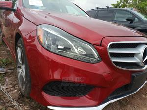 Mercedes-Benz E350 2015 Red | Cars for sale in Abuja (FCT) State, Apo District