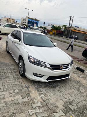 Honda Accord 2015 White   Cars for sale in Lagos State, Lekki