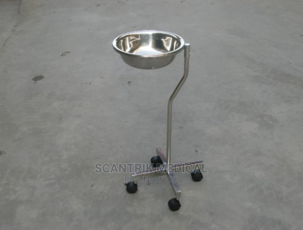 Hospital Stainless Steel Wash Basin Bucket Stand