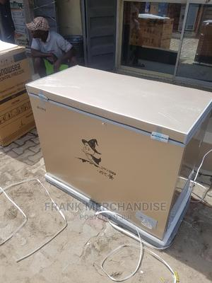 Snowsea Chest Freezer 370litters With Glass 100%Copper | Kitchen Appliances for sale in Lagos State, Ojo