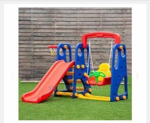 3 In 1 Playground Sets Swing-slide & Basketball Hoop | Toys for sale in Lagos State, Lagos Island (Eko)