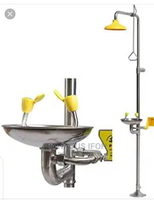 Combined Eyewash Station And Emergency Shower. Stainless | Safetywear & Equipment for sale in Lagos State, Ikeja