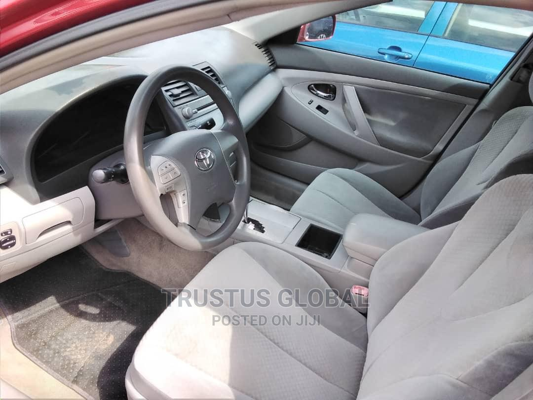 Toyota Camry 2009 Red | Cars for sale in Amuwo-Odofin, Lagos State, Nigeria
