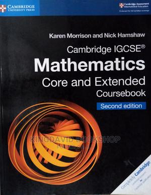 Cambridge IGCSE Mathematics Core and Extended Coursebook   Books & Games for sale in Lagos State, Surulere