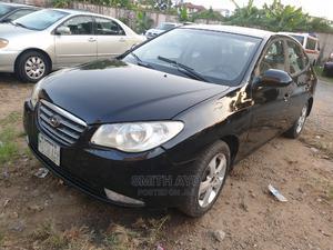 Hyundai Elantra 2008 Black   Cars for sale in Lagos State, Yaba